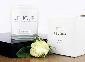 Fleurs de Paris Candle Collection Jour